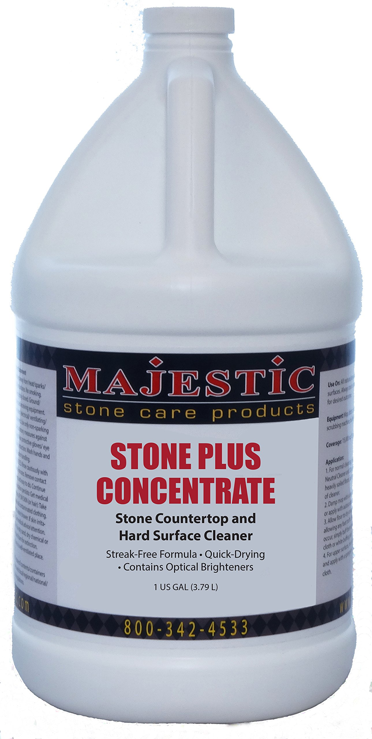 Stone Plus Concentrate Gal. by Majestic Stone Care Products