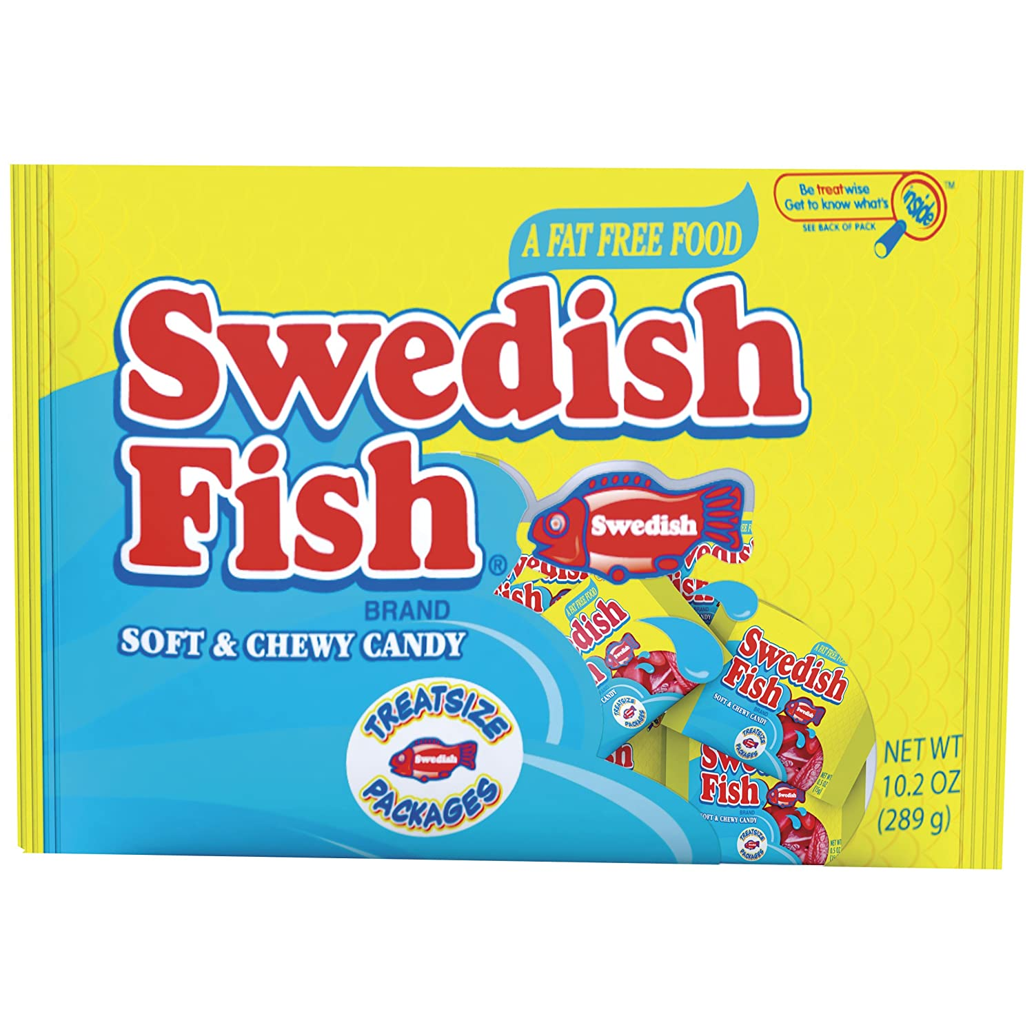 Swedish fish seasonal soft candy 10 2 ounce pack of 42 for Swedish fish amazon