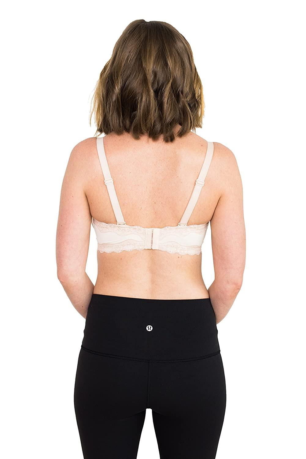 Patent Pending Blush 40 DD Simple Wishes SuperMom All-in-One Nursing and Pumping Bra