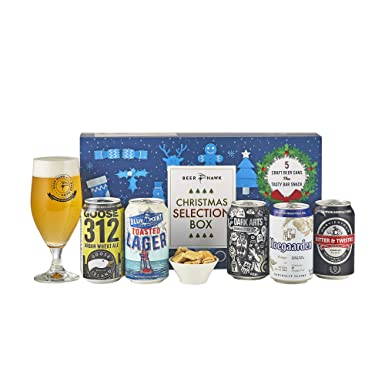 Beer Hawk Craft Beer Christmas Selection Box - Christmas Gift Set ...
