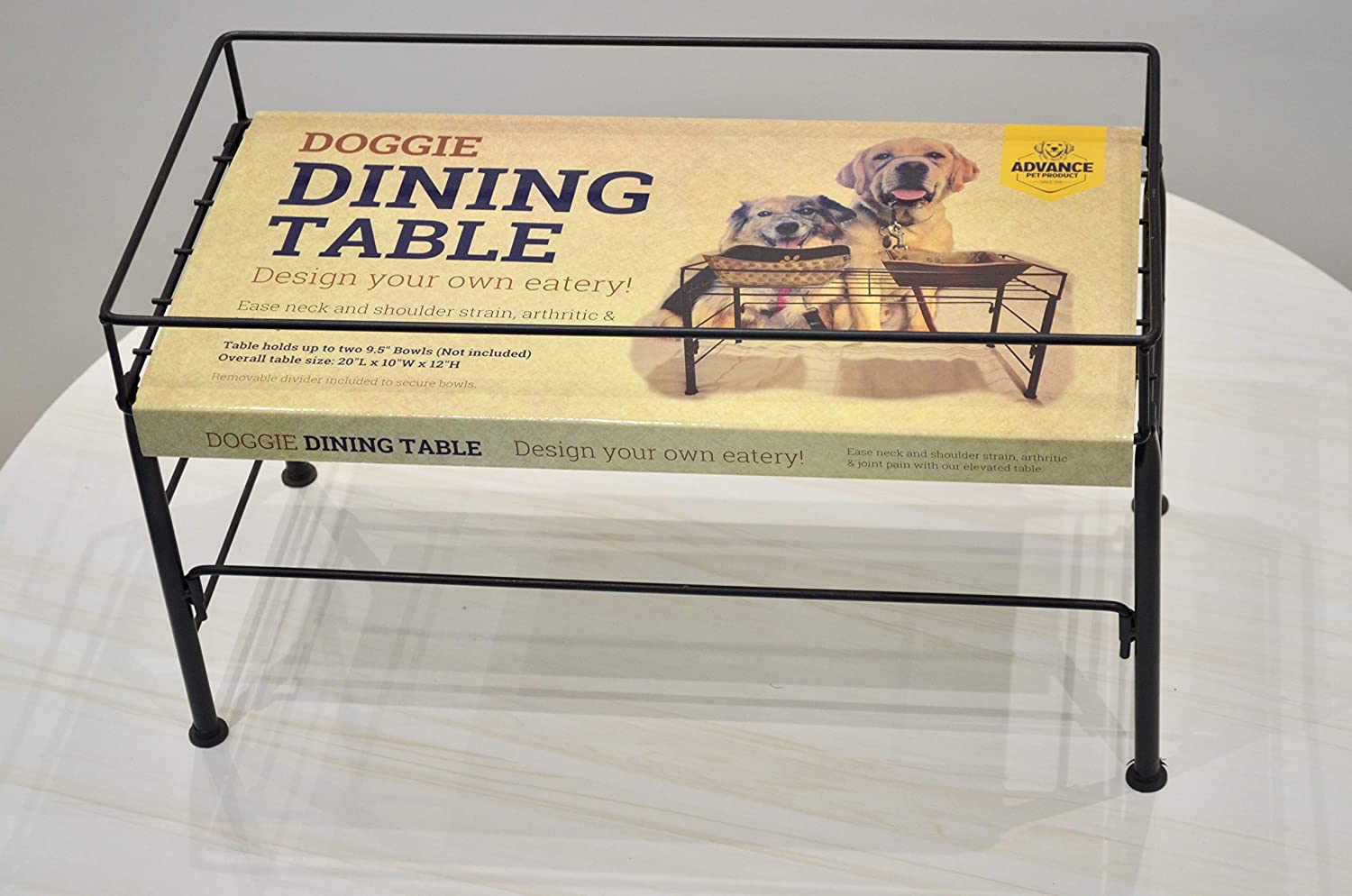 Advance Pet Products Doggie Dining Table