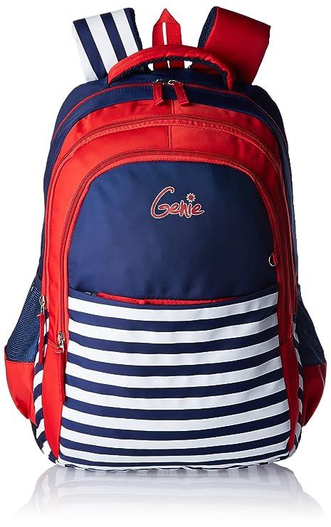 69543966f5d6 Genie Nautical Nylon 32 Ltrs Blue School Bag (Nautical 1706 Blue 19 ...