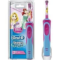 Oral-B Kids Elektrische Kinderzahnbürste, für Kinder ab 3 Jahren, im Disney Prinzessinnen Design