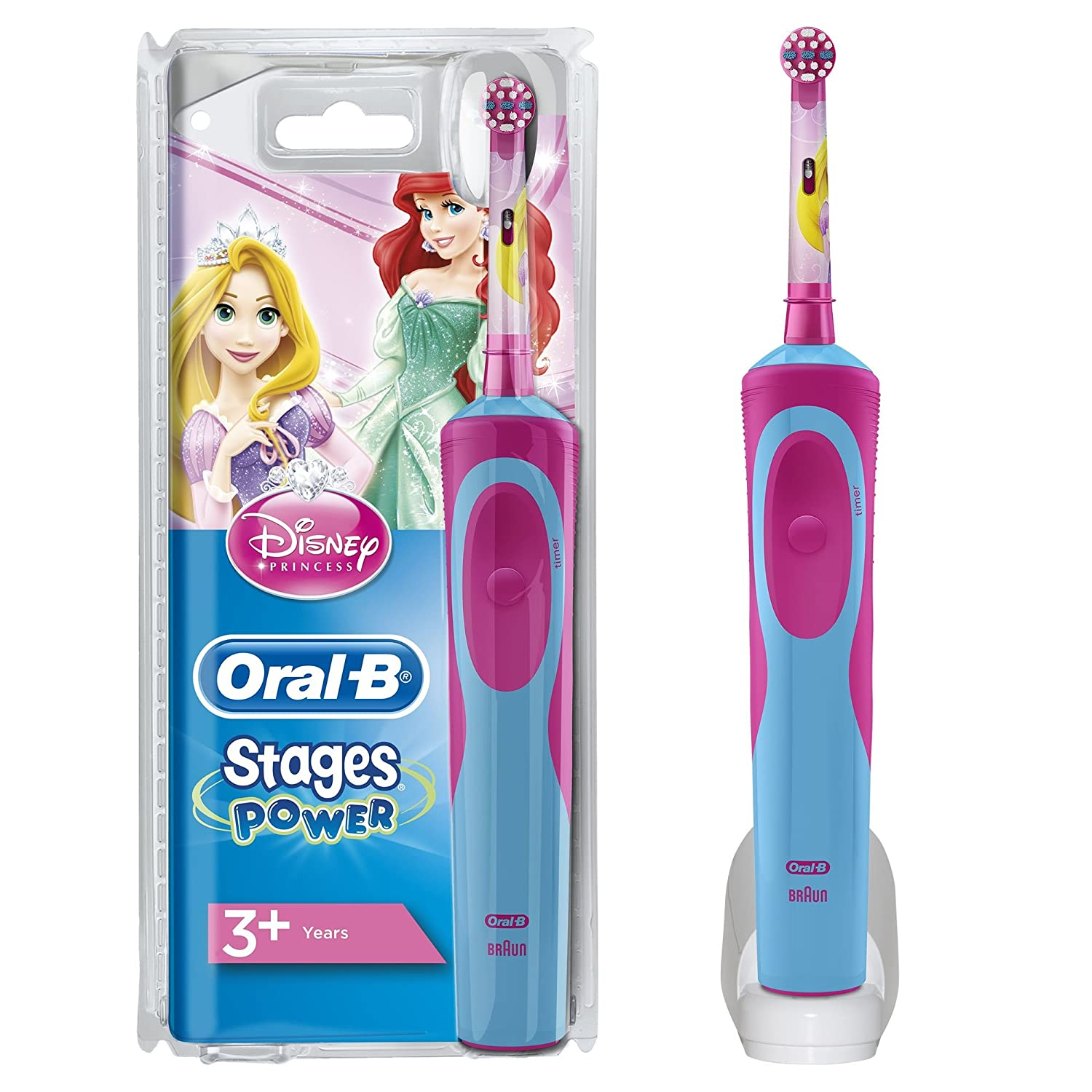 Oral-B Vitality Toothbrush Stages Power Electric For Kids Princess PROCTER & GAMBLE SRL 4210201128526