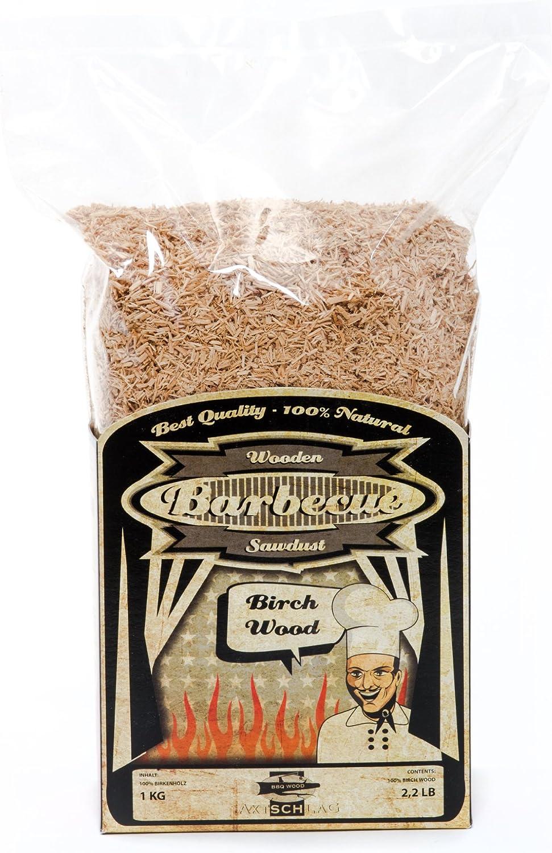 Premium BBQ  Reines Buchenholz räuchern Räucherchips 20 Kg Sack kammergetrocknet