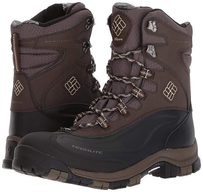 Columbia 1761001 - Botas de Nieve de Sintético Hombre, Color Marrón, Talla 48: Amazon.es: Zapatos y complementos