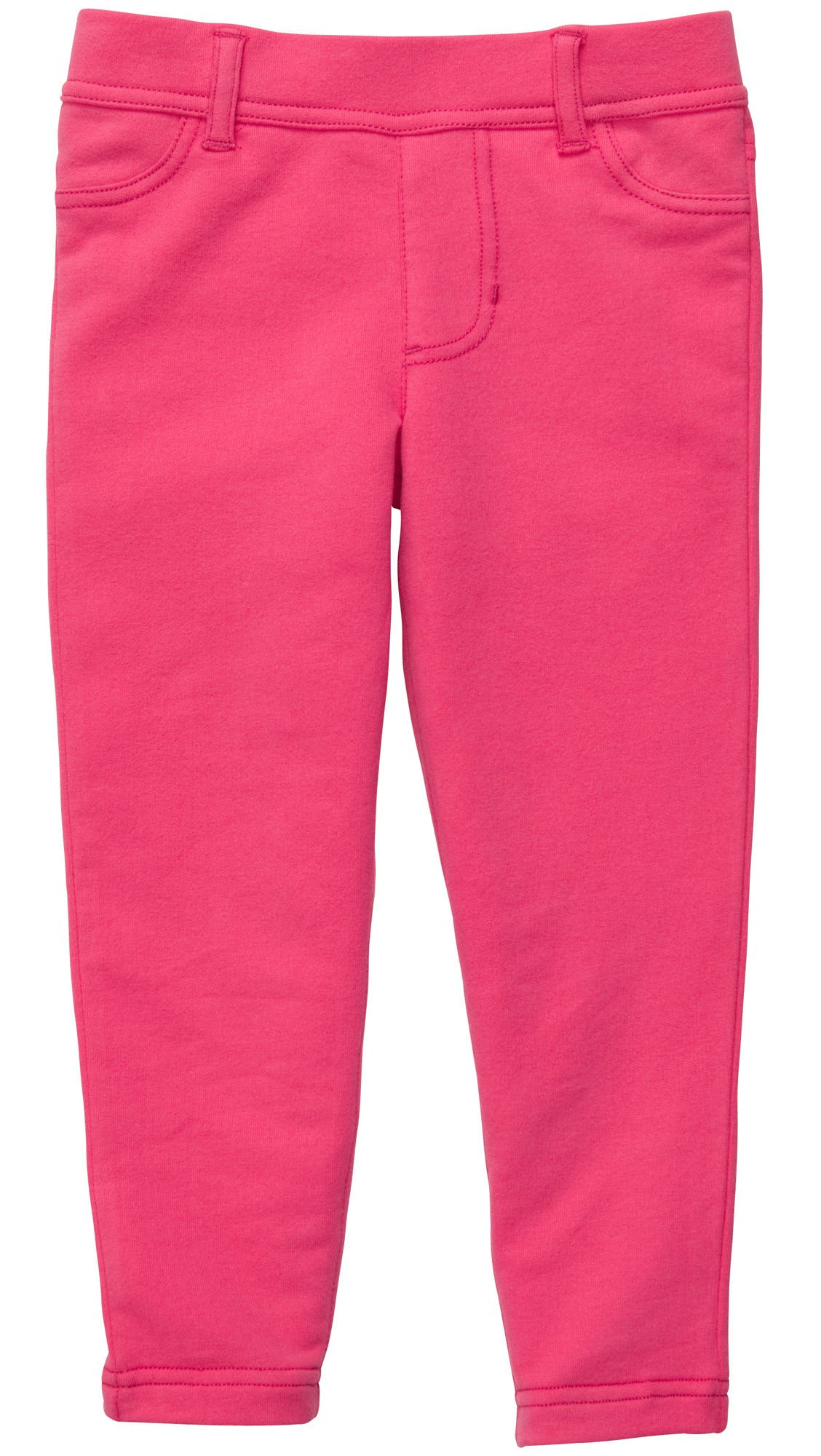 Carter's French Terry Jegging - Hot Pink- 4T