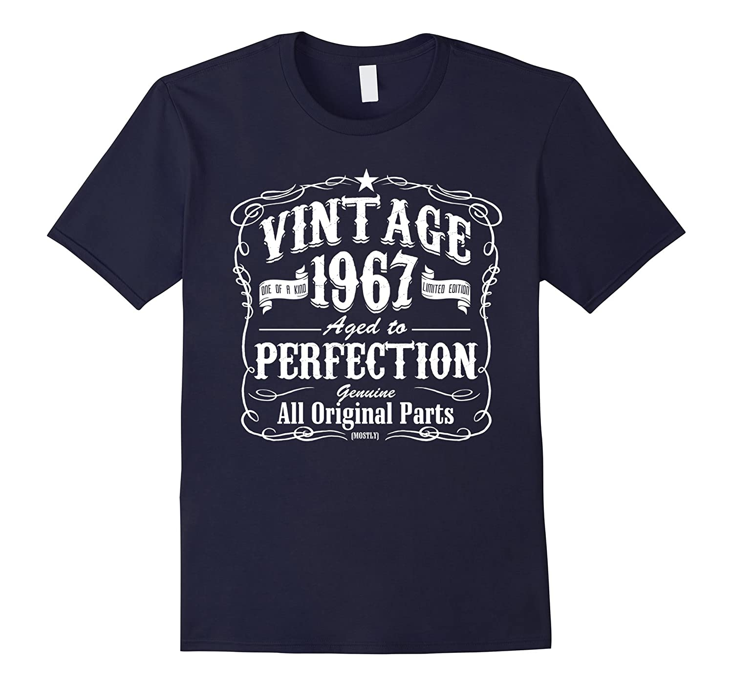 Vintage 1967 Funny Birthday T-Shirt For 50 Years Old-TH