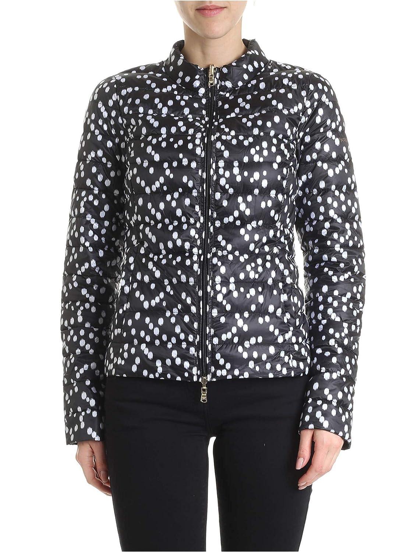 Brand Size 40 PATRIZIA PEPE Women's 8S0225A503XT10 Black Polyester Down Jacket