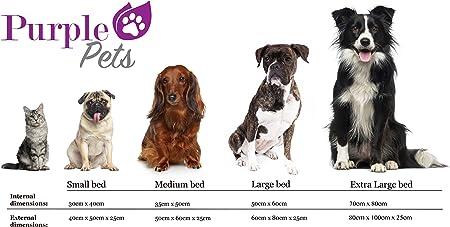Cama para Perro, Cama para Gato, Cama de Mascota, Suave Sofá Cesta, resistente al agua, Fácil limpieza! Purple-Pets (Extra Grande, Lima Verde): Amazon.es: Productos para mascotas