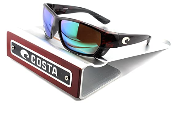 4cda87afcf6 Costa Del Mar Tuna Alley 580G Men Sunglasess Tortoise Frame   Green Mirror  Lens (TA10