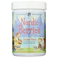 Nordic Naturals - Nordic Berries, Multivitamin Treats for Adults and Kids, 200 Count