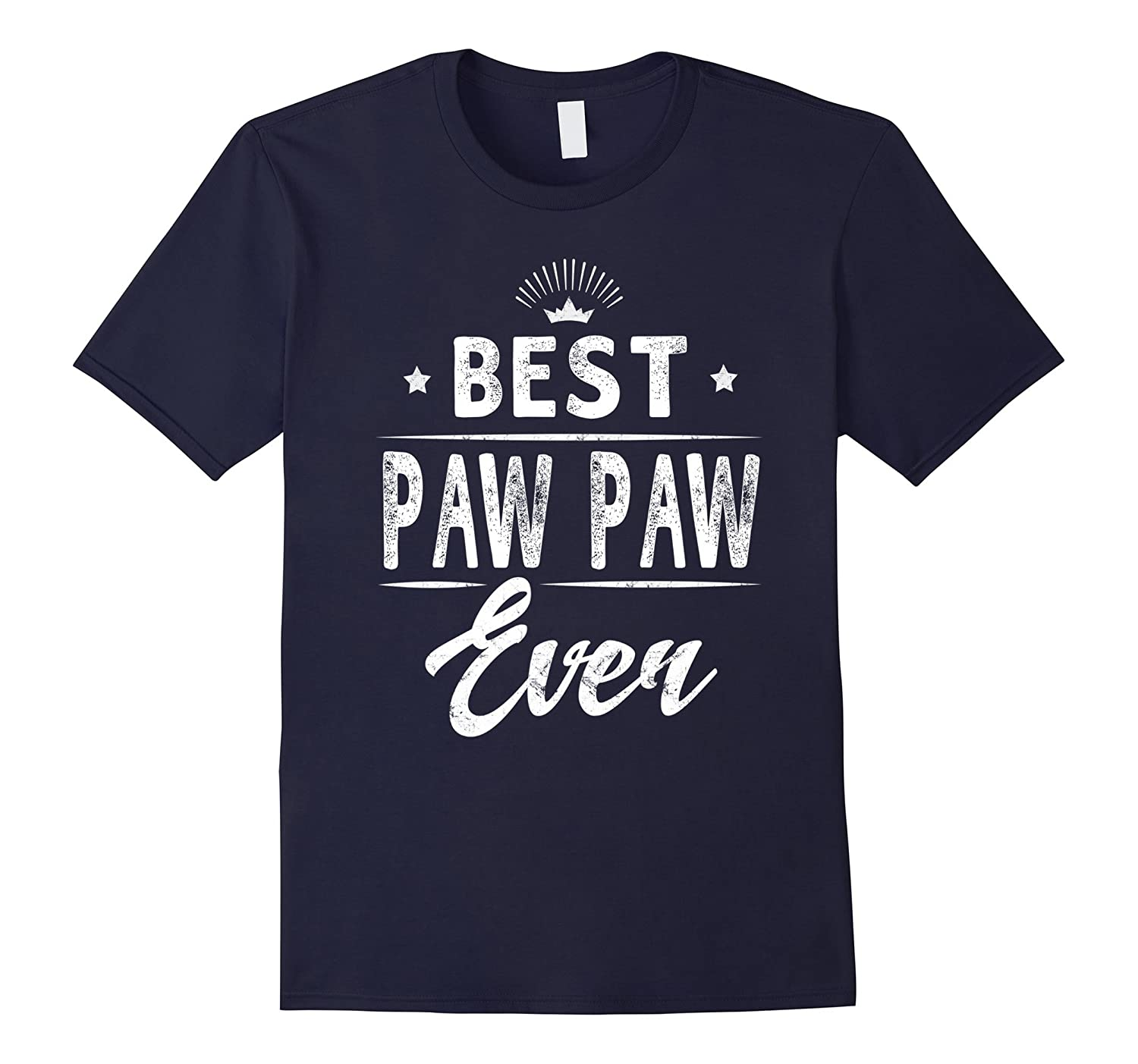 Best Paw Paw Ever Grandpa Father's Day Gifts Men's T-shirt-Art