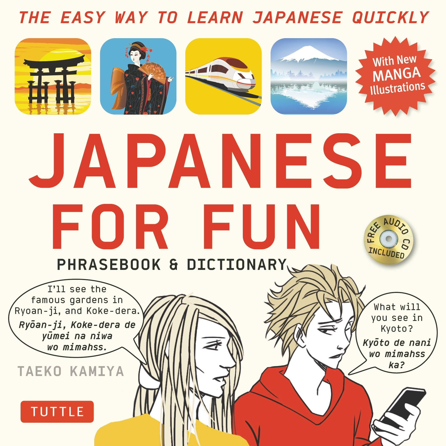 0d6bef693aff Amazon.com  Japanese For Fun Phrasebook   Dictionary  The Easy Way ...