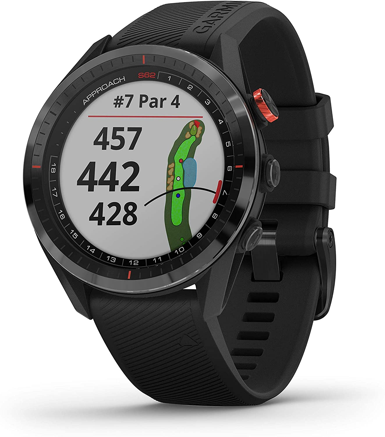 Garmin Approach S62 Smartwatch Golf Black: Amazon.de: Elektronik - Golfuhren Test