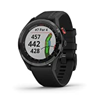 Garmin Approach S62, Premium Golf GPS Watch, Built-in Virtual Caddie, Mapping and Full Color Screen, Black (010-02200-00)