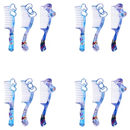 Asera 12 Pcs Frozen Combs For Birthday Return Gifts Girls