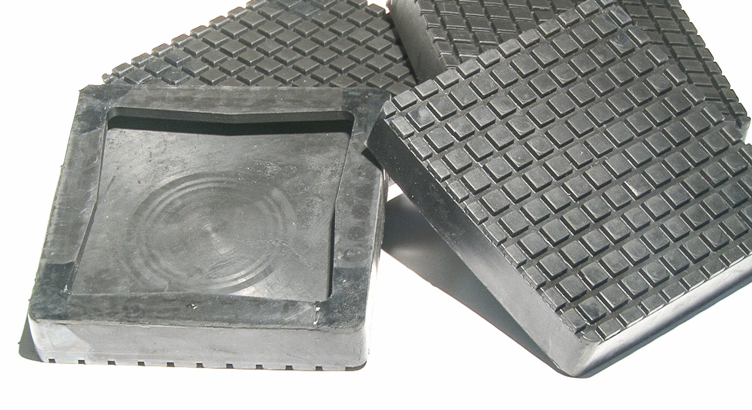 Auto Lift Parts - BendPak or Danmar Square Rubber Replacement arm Pads (Slip on Style) for 2 Post Lifts - Set of 4