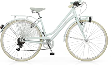 Bicicleta MBM Apostrophe para mujeres, cuadro de acero, 28