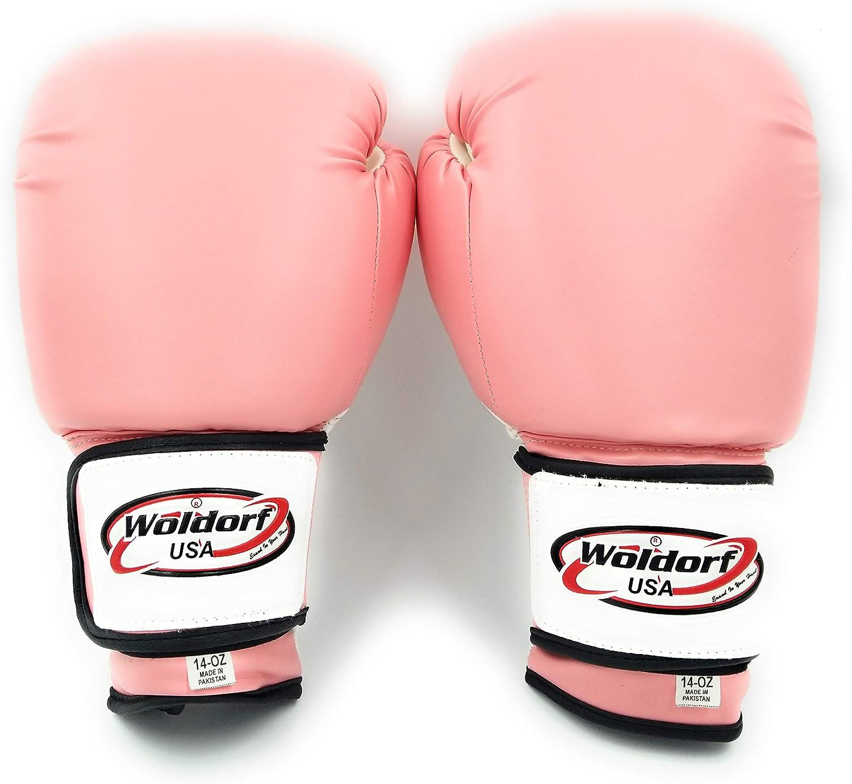 Boxing Gloves Men Women Kids Sparring Kickboxing Punching Heavy Bag Mitts USA