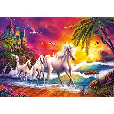 Buffalo Games - Amazing Nature Collection - Twillight Shore - 500 Piece Jigsaw Puzzle: Toys & Games