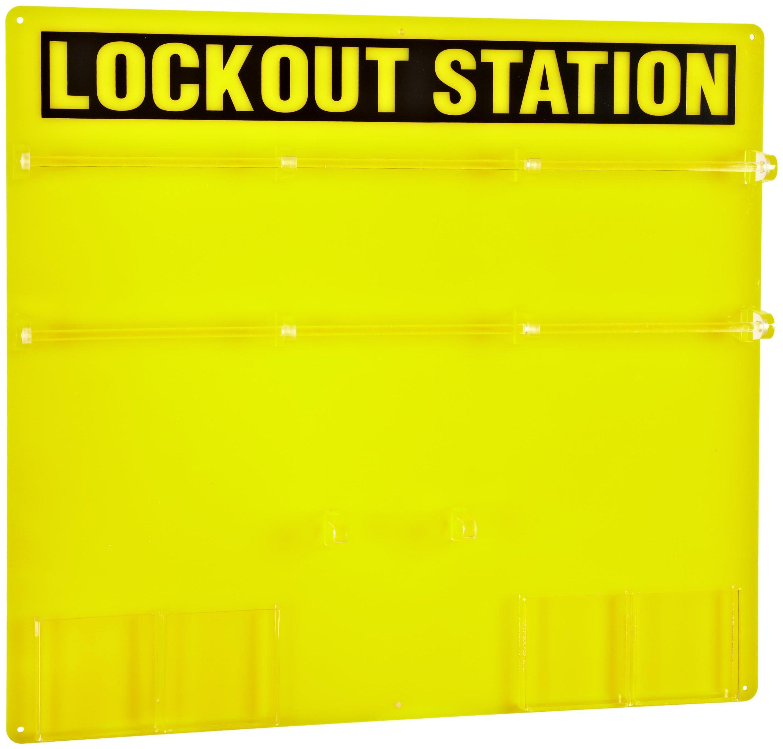 Brady Unfilled Lockout Station, 36-Padlock Capacity