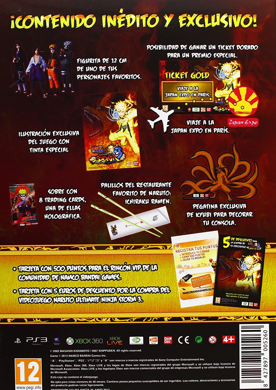 Naruto Storm 3 - Ultimate Ninja Kit: Amazon.es: Videojuegos