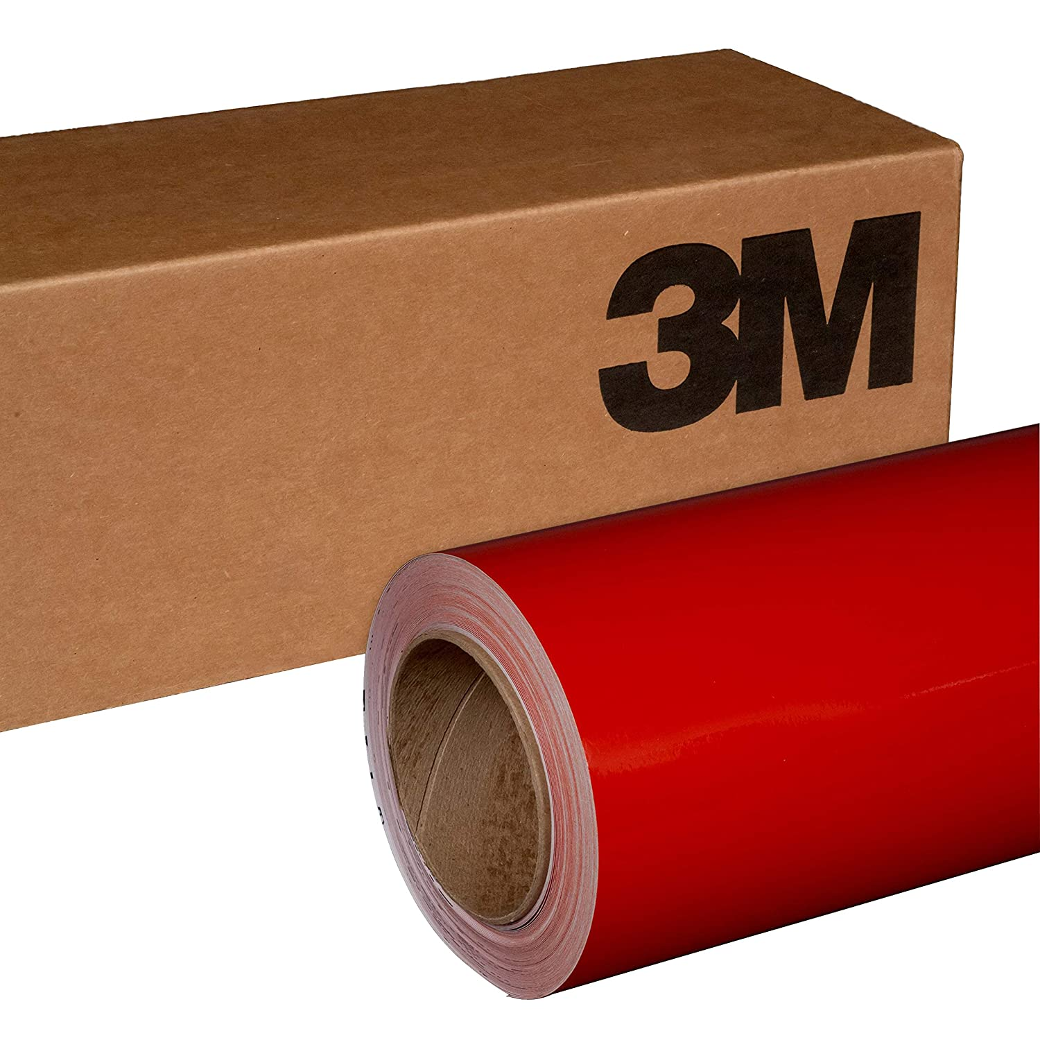 3M 1080 G83 GLOSS DARK RED 5ft x 1ft (5 Sq/ft) Car Wrap Vinyl Film FBA_1080-G83