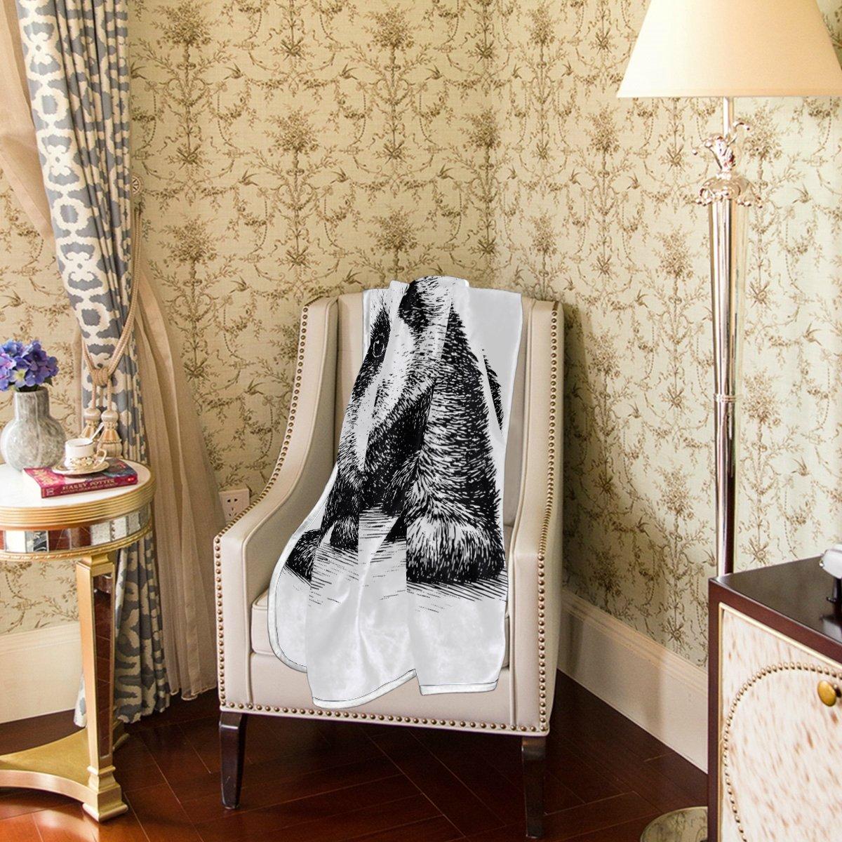 Sugar Skull Bed Sofa Blanket Throw Large Fleece Soft Chair Sofa