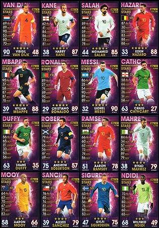 Spain Match Attax 101 Yueng International Stars trading card