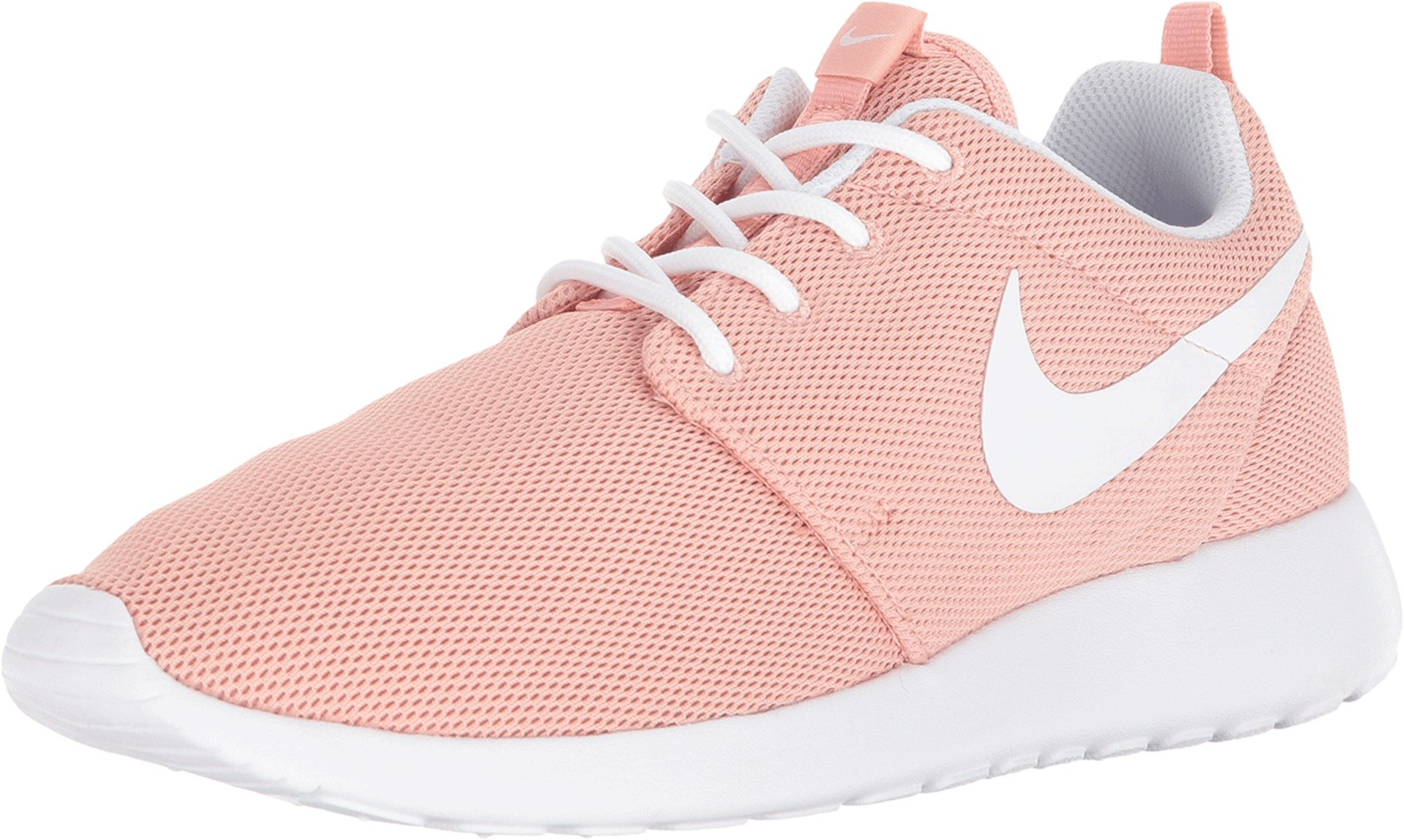 Aturdir enfermo Lima  Nike Women's Roshe One Coral Stardust/White Nylon Running Shoes 9 (B) M US  on Galleon Philippines