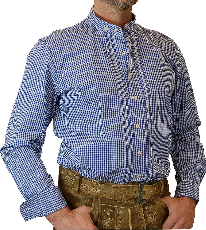 Almsach Slim Fit Stehkragen Trachtenhemd Ben in verschiedenen Ausführungen