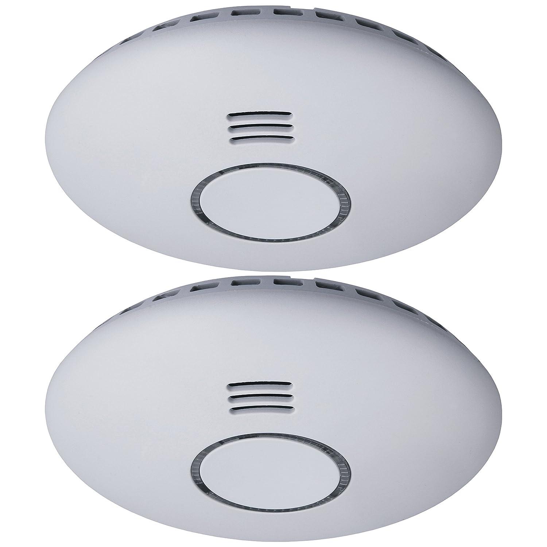 Detector de humo Smartwares RM174RF/2 - 85 dB - Baterías incluidas - Conectable: Amazon.es: Bricolaje y herramientas
