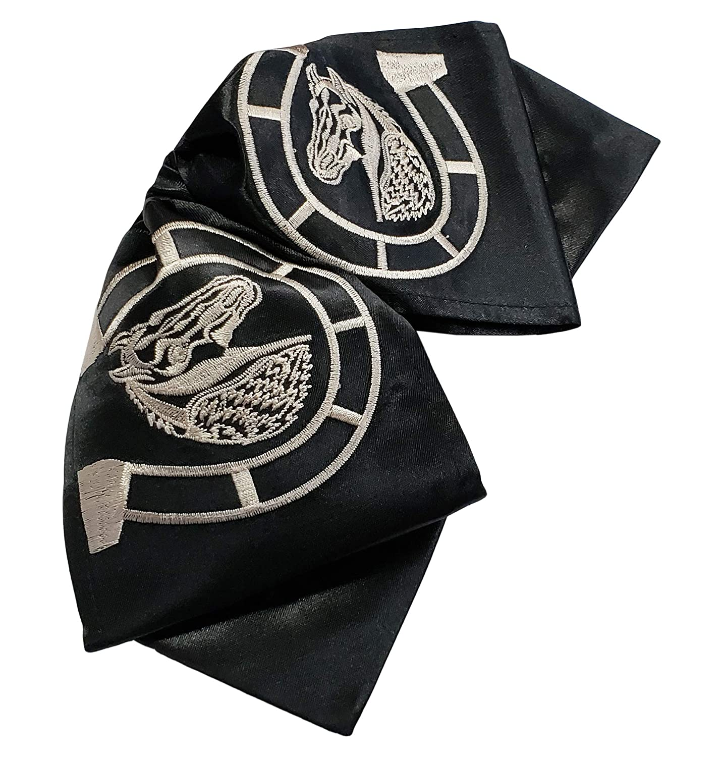 Embroidered Charro Horse Style 3 Bow Tie//Mo/ño