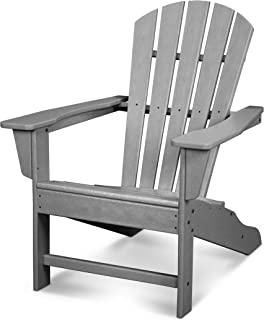 product image for POLYWOOD HNA10-GY Palm Coast Adirondack Chair, Slate Grey