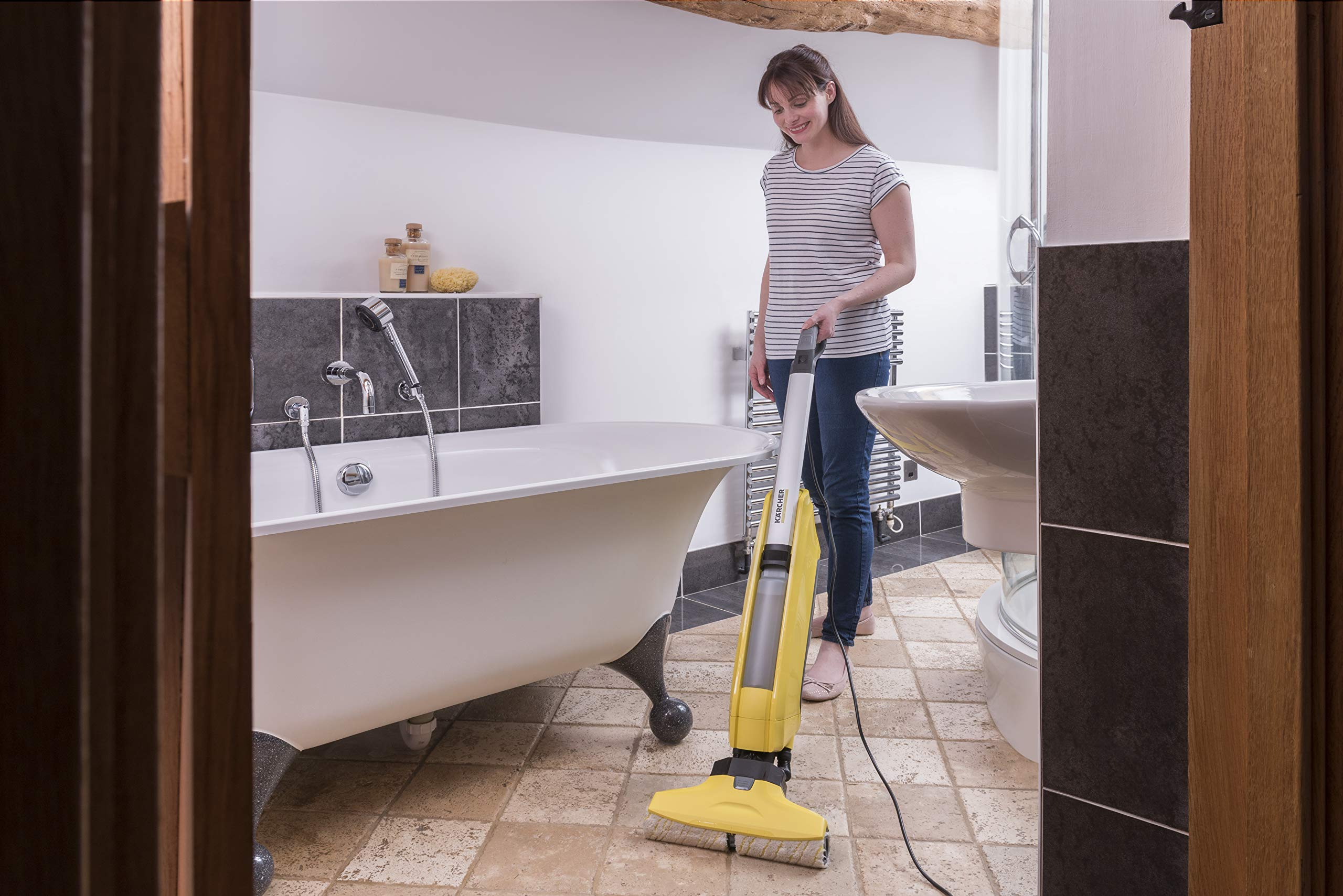 KARCHER FC5 Hard Floor Cleaner - Yellow by Karcher (Image #3)