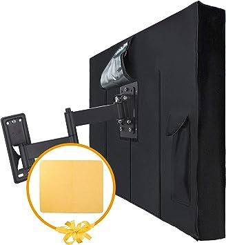 Nextcover - Funda para televisor de exterior (58-60