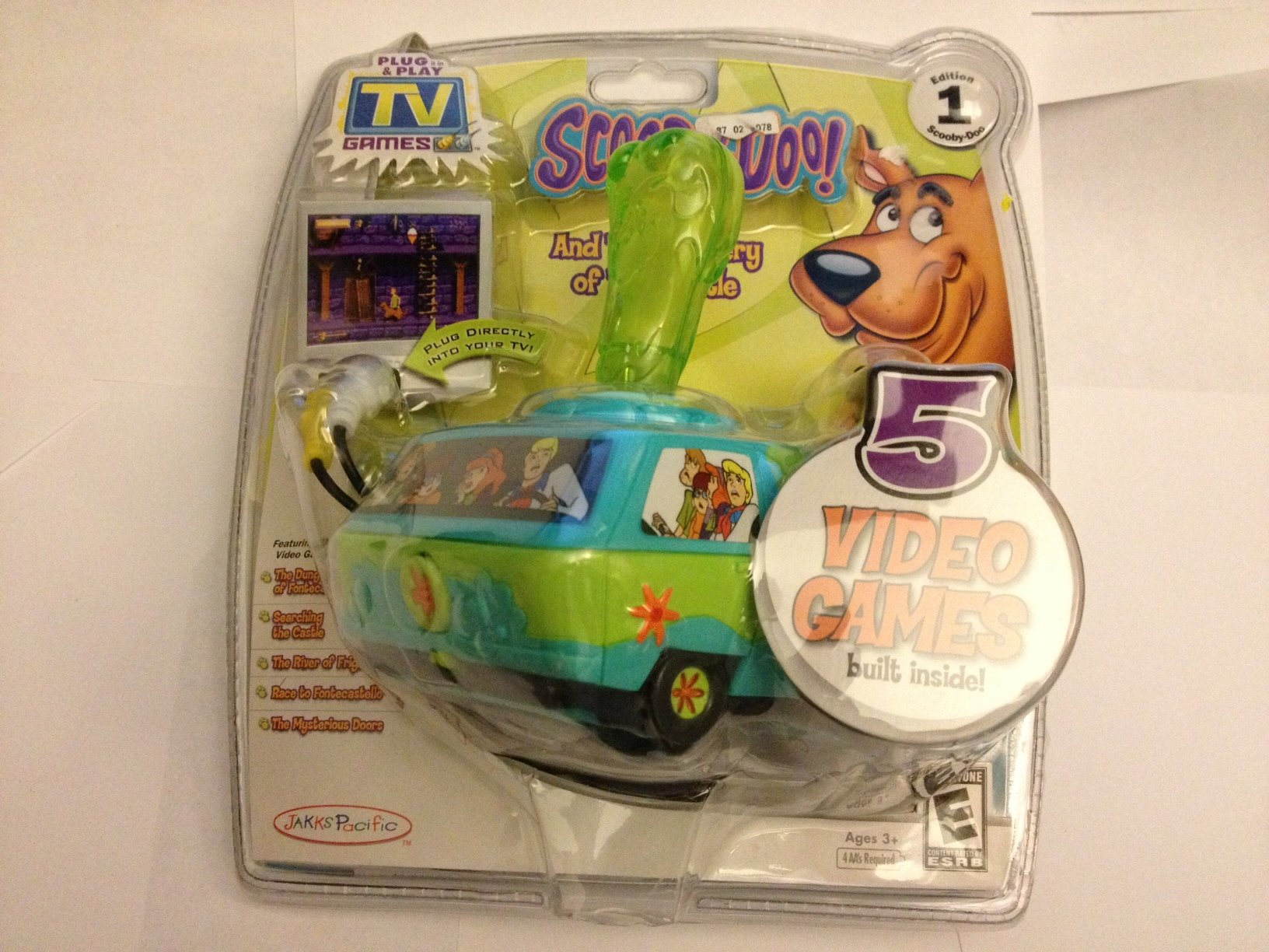 Jakks Pacific Toymax Scooby Doo Tv Game