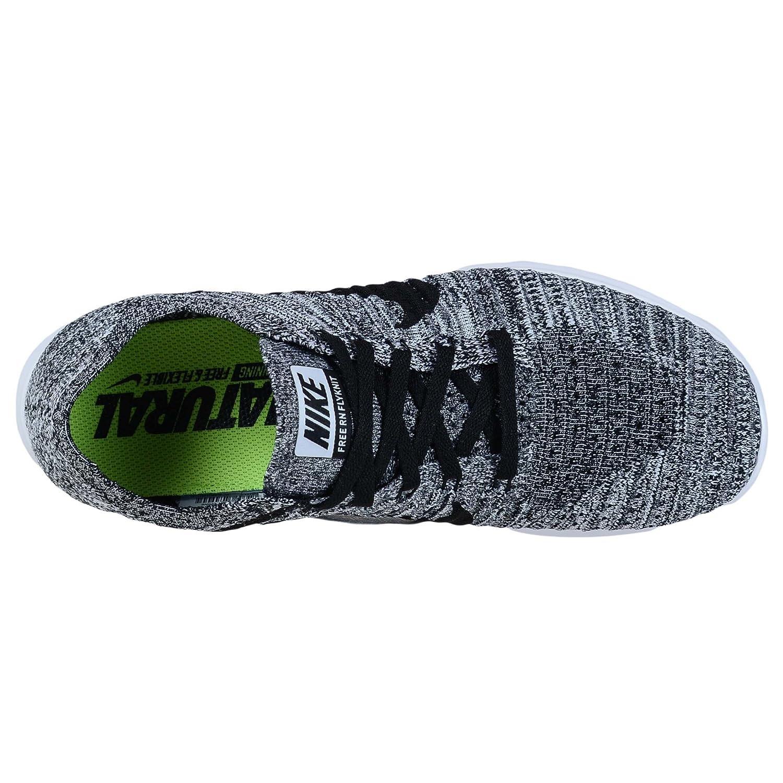NIKE b(m) Women's Free RN Flyknit Running Shoe B01F9I6JZM 6 b(m) NIKE us White/Black c389f4