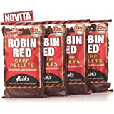 Dynamite Baits Robin Red–Billes de leurre semi-perforées pour pêche à la carpe