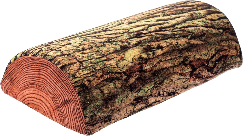 KADAX Almohada semicilíndrica de espuma, 40 x 21 cm, almohada con funda lavable, cojín para cuello, cojín de relax, semicircular, cojín de almacenamiento, apto para alérgicos (emoost)