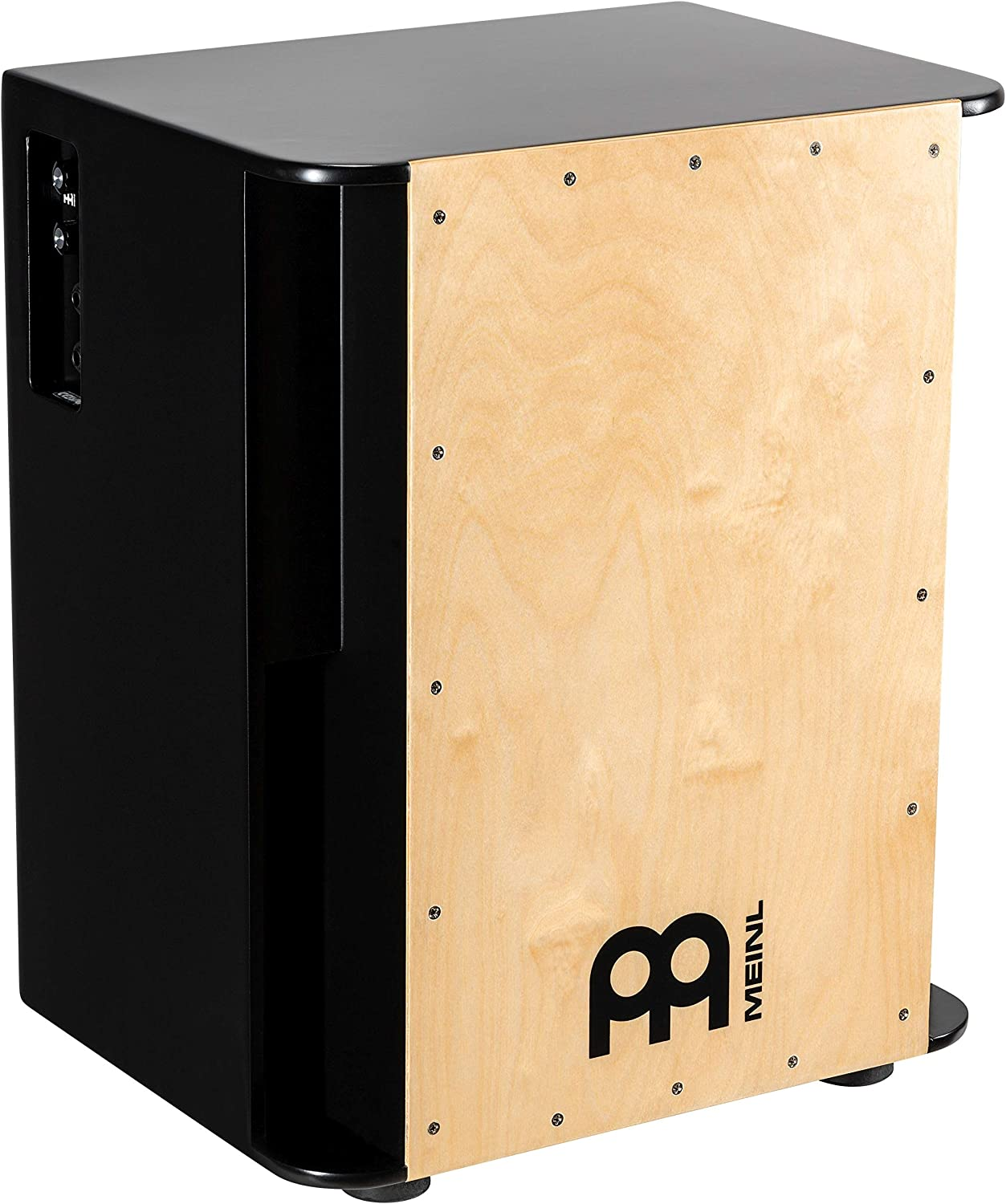 Meinl Percussion Pickup Vertical Subwoofer Bass Cajon Box Drum with Snares and Electronics for Amp or PA System — NOT MADE IN CHINA — Baltic Birch Playing Surface, 2-YEAR WARRANTY (PSUBCAJ6B)