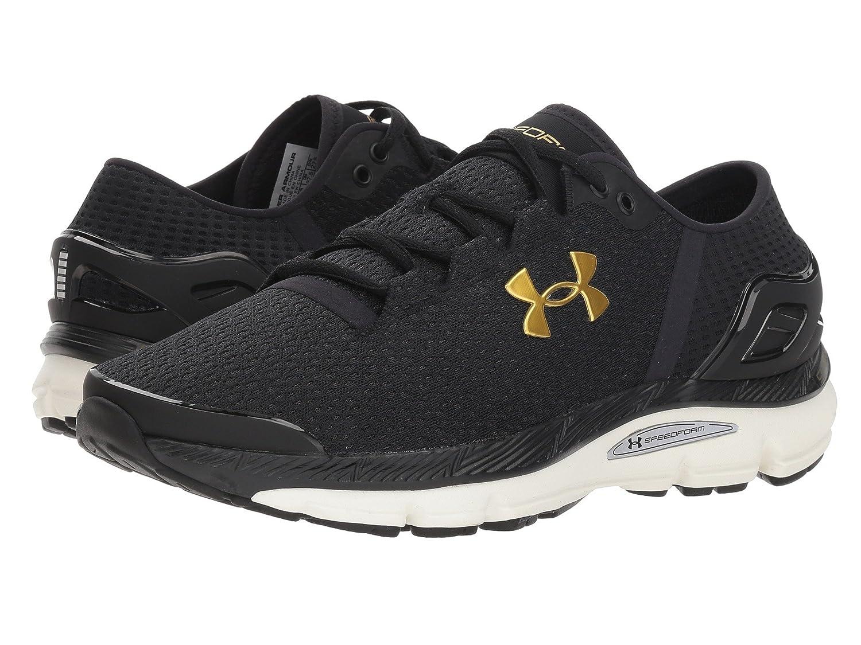 [UNDER ARMOUR(アンダーアーマー)] メンズランニングシューズスニーカー靴 UA Speedform Intake 2 Black/Charcoal/Metallic Gold 15 (33.cm) D - Medium B07DPQDJP4