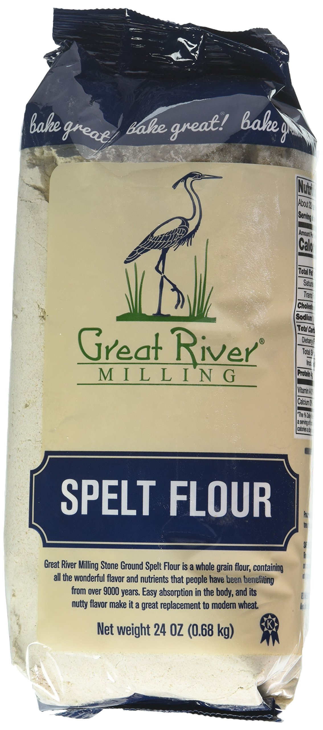 Amazon.com : Great River Organic Milling Dark Rye Flour