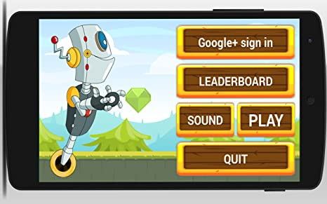 Amazon.com: Jumper Runner Robot: Appstore for Android