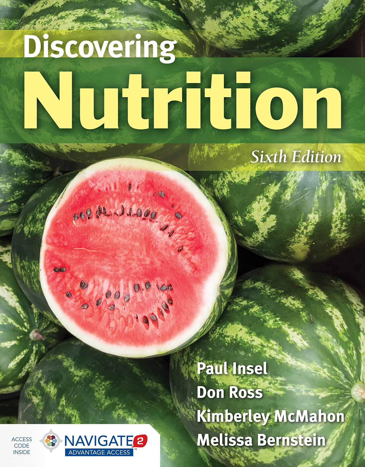 Discovering Nutrition by Jones & Bartlett Learning