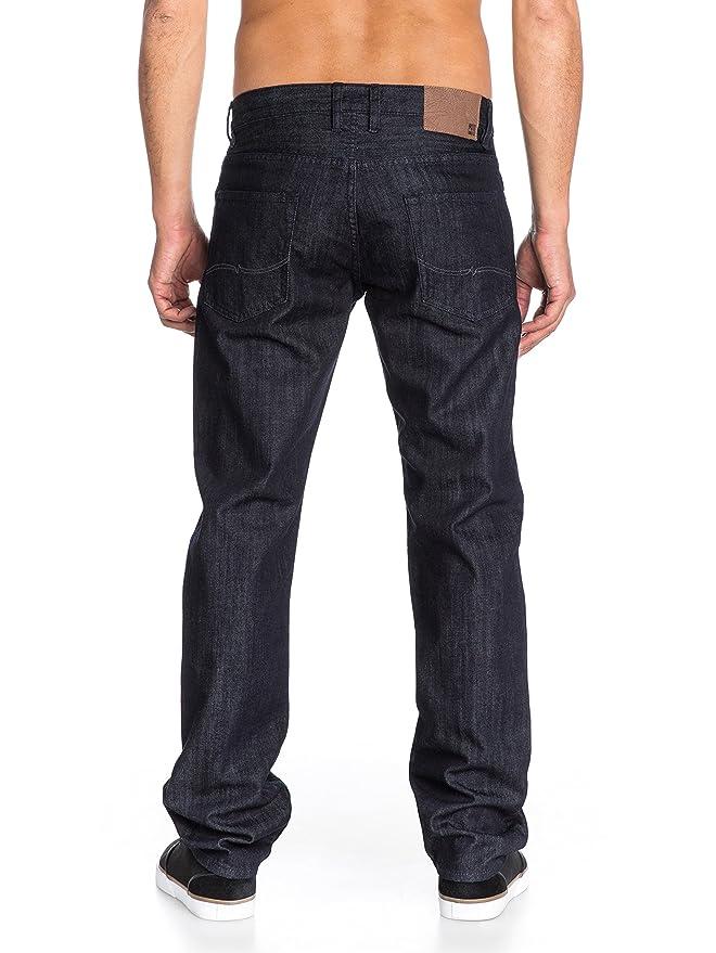 Quiksilver Jeans Sequel Rinse 32 - Pantalones para Hombre ...