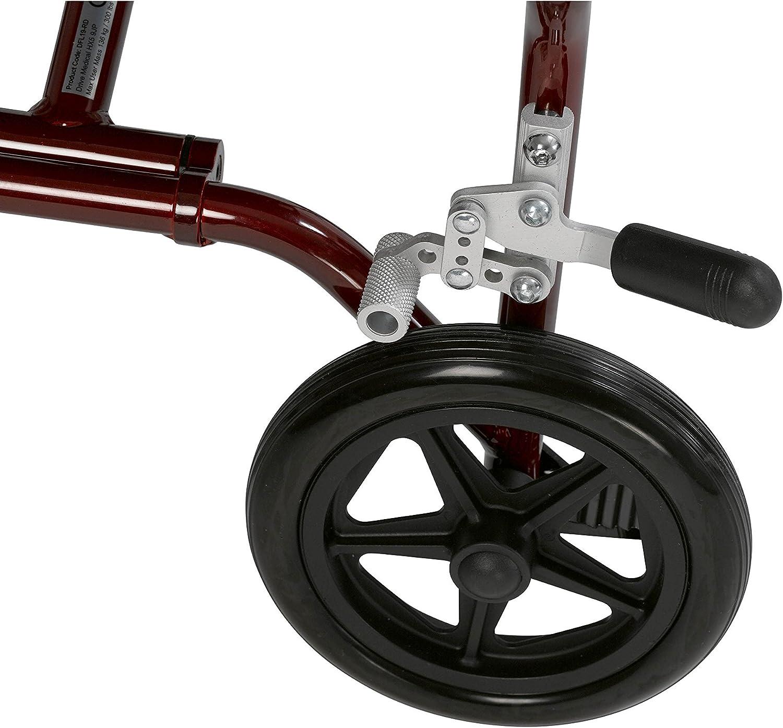 "B002VWK2FS Drive Medical Fly Lite Ultra Lightweight Transport Wheelchair, 19\"", Red Frame 81chQ9YJJOL"