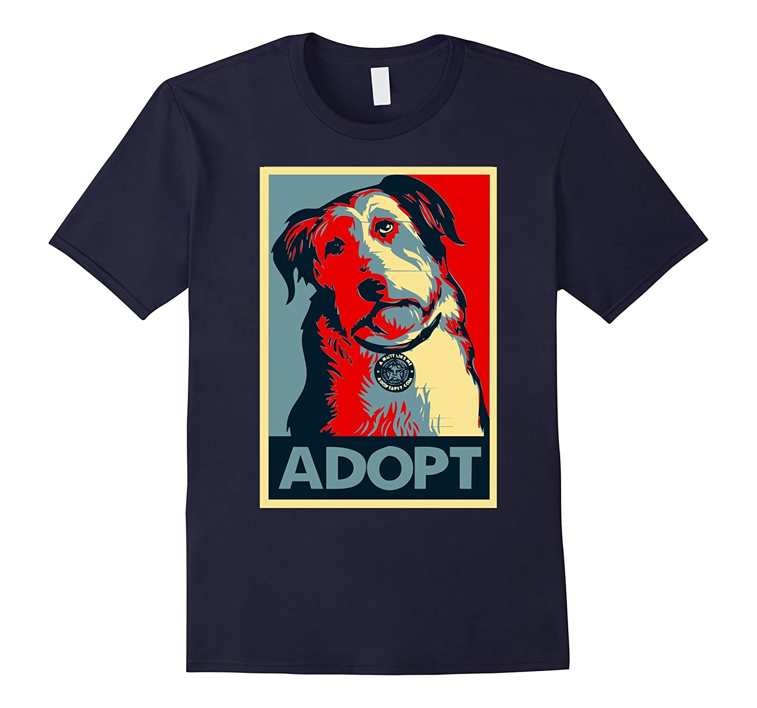Adopt Dogs Tshirt, Rescue Dog Shirt, Funny Dog Shirts-BN