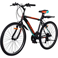 Cockatoo CBC-01 Elite Series 26T & 18 Speed Carbon Steel Mountain Bike,Cycle(2 Year Warranty)